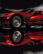 Free background for mobile LG 176*220 Cars