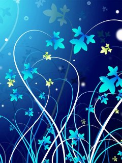 Creative live wallpaper for android smartphone AT&T 240x320 2d-3d