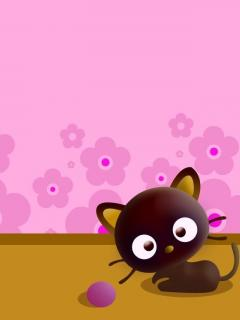 Beautiful wallpaper for mobile Sony 240x320 cartoons