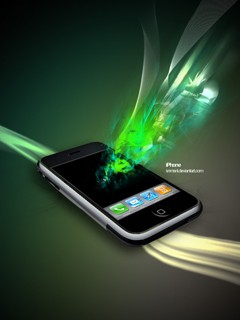 Nice wallpaper for cellphone Sony Ericsson 240*320 creative