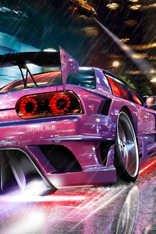 Beautiful background for smartphone AT&T 320x480 - cars
