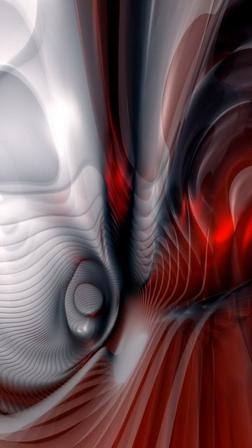 Creative abstract screensaver for mobile phone Dell 360x640