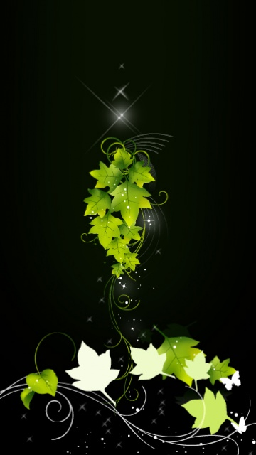 Beautiful abstract background for cellphone Sony Ericsson 360*640