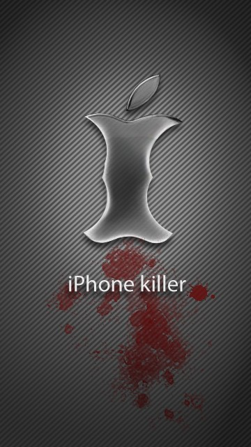 Hilarious wallpaper with logos for cellphone LG 360*640