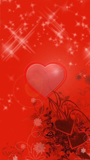 Creative love pic for mobile LG 360*640